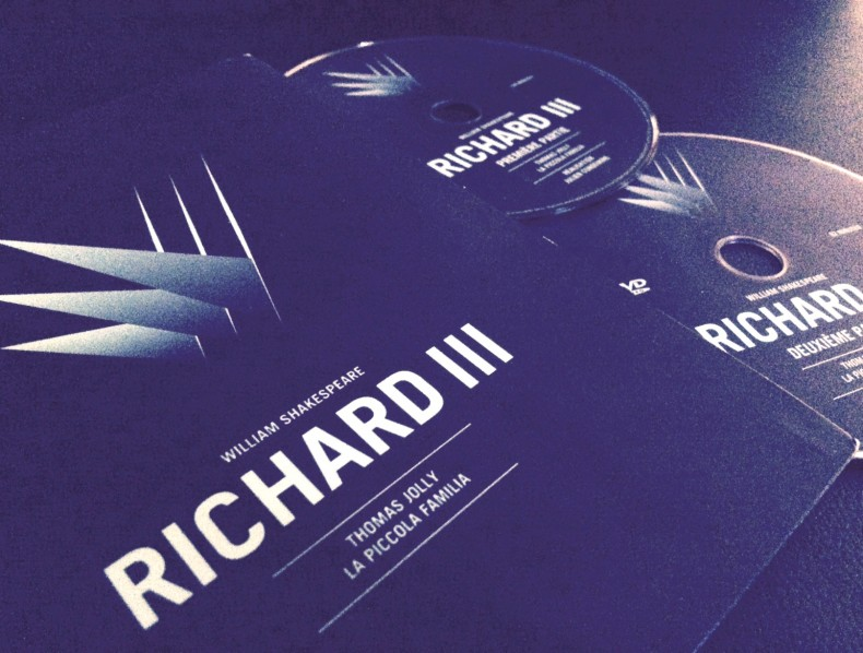RICHARD III EN DVD